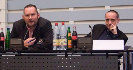 Stefan Niggemeier und Thomas Mrazek (© W.D. Roth)